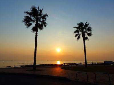 きららビーチ焼野の夕陽1.jpg