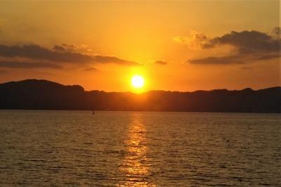 さわやか海岸のサンセット3.jpg