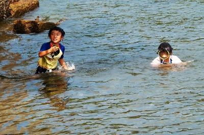 なかよし兄弟の海水浴1.jpg