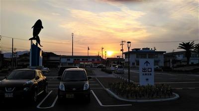 センザキッチンからの眺望・夕日8.2.20.jpg
