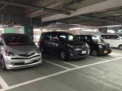 ヤフオクドーム駐車場.JPG