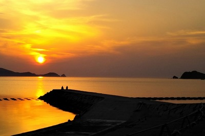 仙崎さわやか海岸サンセット1.jpg