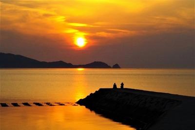 仙崎さわやか海岸サンセット2.jpg