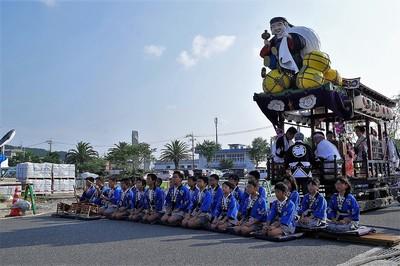 仙崎小学校の児童による鯨唄の披露1.jpg