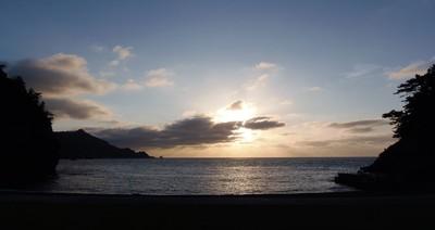夕暮れの船越の浜サンセット6.7.20.JPG