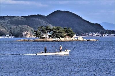 大日比弁天島と夫婦船11.30.jpg