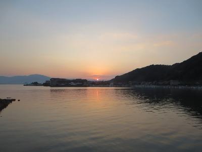 大泊港の夕陽1.jpg