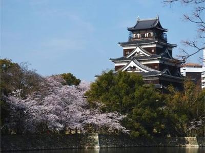 広島城と桜1.jpg