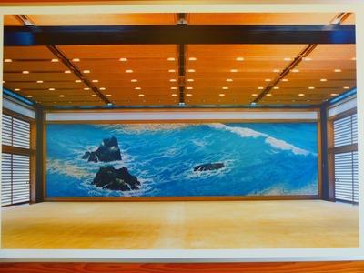 東山魁夷画伯による皇居宮殿の壁画.jpg