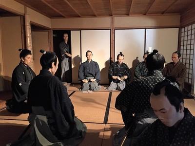 松陰と門下生.JPG