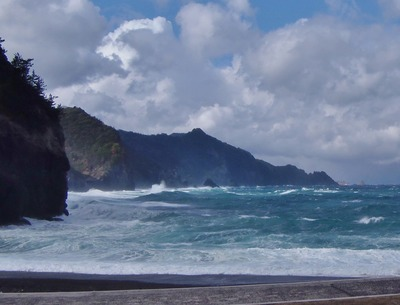 海上アルプス青海島VS男波1.jpg
