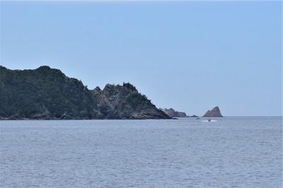 船越の浜からの「竹の子鼻」1.JPG
