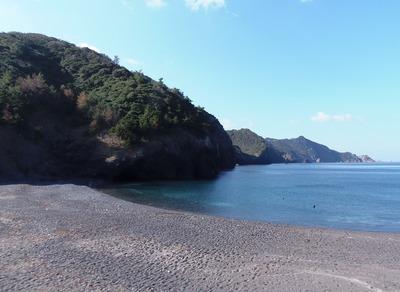 船越の浜と海上アルプス青海島.jpg