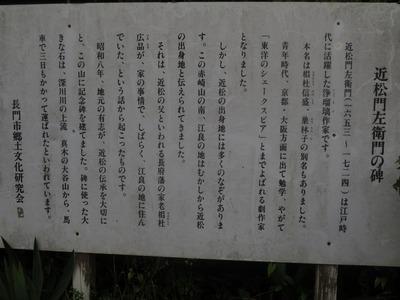 近松門左衛門の碑説明板1.jpg