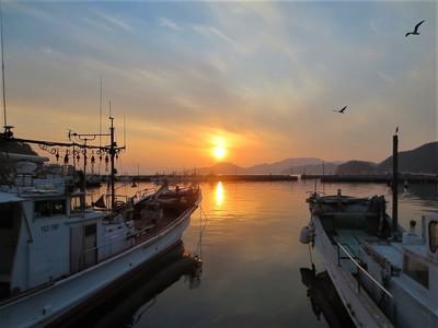 通漁港の夕陽1.jpg