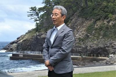 長門市観光コンベンション協会の光永忠由副会長挨拶.jpg