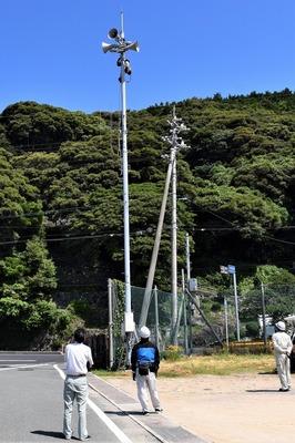 長門市防災行政無線スピーカー向き改善工事1.jpg