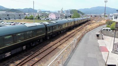 長門市駅出発のトワイライトエクスプレス瑞風3.jpg