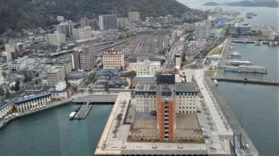 門司港レトロ展望室からの眺望1.jpg
