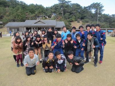 青海島キャンプ村で記念撮影.jpg