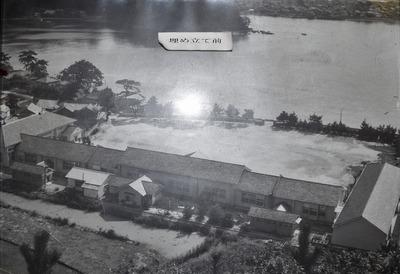 青海島小学校のすぐ前は海だった。.jpg