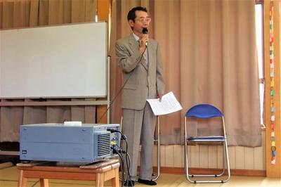 青海島育ちのマッサンの主催者挨拶.jpg