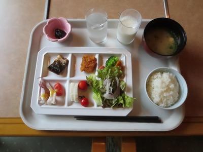 青海島育ちのマーくんの朝食.jpg