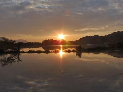 青海湖のサンセット1.jpg