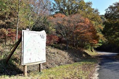 高山登山MAPと秋色.jpg