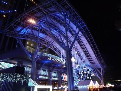 JR博多シティのイルミネーション1.jpg