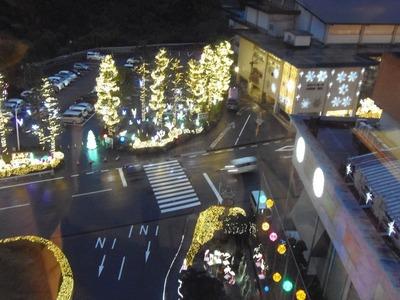 Hana館 前のイルミネーション.jpg